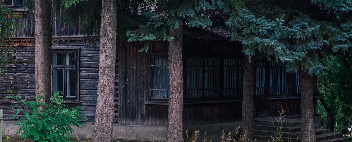 Une des maisons du refuge